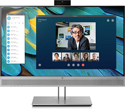 HP EliteDisplay E243m 23.8' Full HD IPS Negro, Plata Pantalla para PC - Monitor (60,5 cm (23.8'), 1920 x 1080 Pixeles, LED, 5 ms, 250 CD/m², Negro, Plata)