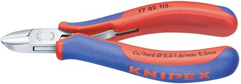 Elektron.Seitenschneider L.115mm rd. o.Facette KNIPEX KNIPEX KNIPEX m.2Komp.-Hüllen B00VWMW8WS  Haltbarkeit a2595f