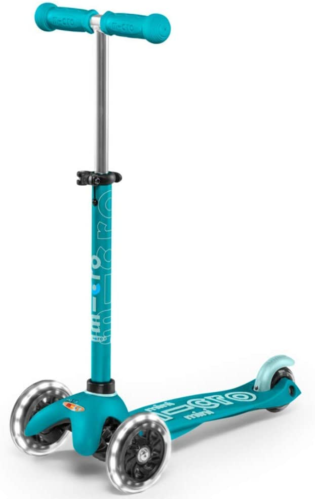 Micro Kickboard - Mini Deluxe Ranking TOP5 Lean-to-Steer 3-Wheeled LED Swis 67% OFF of fixed price