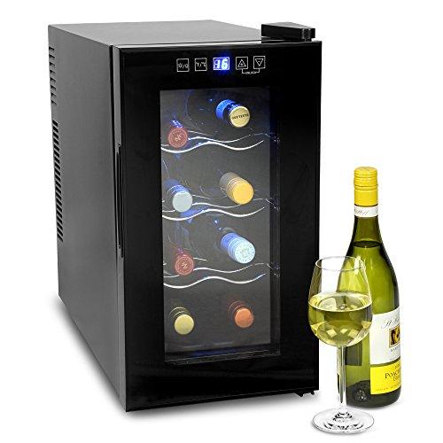 bar@drinkstuff VinoTech 8 Bottle Wine Cellar - 25 Litre Digital Wine Cooler...