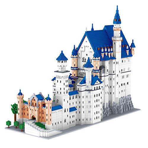 11810pcs + Castillo de Piedra de Swan Micro Building Blocks Famosa Arquitectura Mini Ladrillos Kid Blocks Toys for Gift