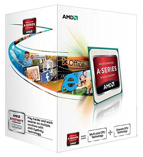 Best Price Square CPU, APU A4 4000 Trinity, Socket FM2,AMD AD4000OKHLBOX by AMD (Advanced Micro Devices)
