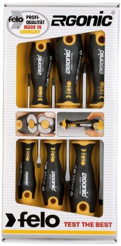 Preisvergleich Produktbild Felo 00040095118 Schraubendrehersatz Ergonic 5-teilig