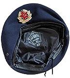 Ganwear Insigne de béret Militaire Bleu foncé Uniforme de l'armée Russe de Style...