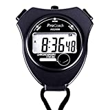 ProCoach Sports Stopwatch Timer RS-2009 - Extra Large Display | Ideal for Coaches, Runners and Athletes