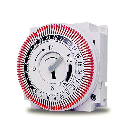1W 250V Multifunctionele Timer Switch Socket met Sonde Energiebesparende Mechanische Timer Socket tijdschakelaar