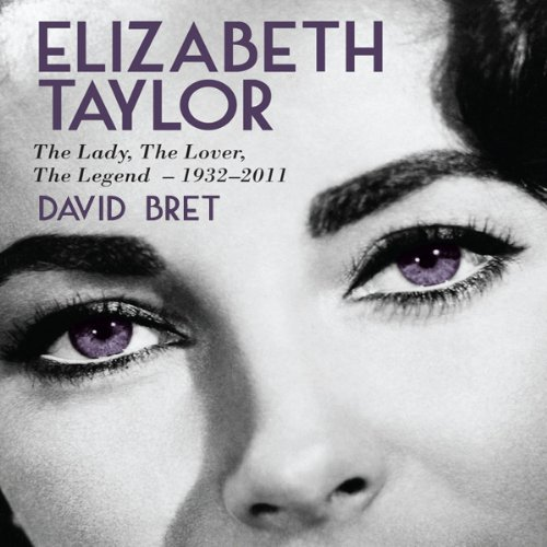 Elizabeth Taylor audiobook cover art