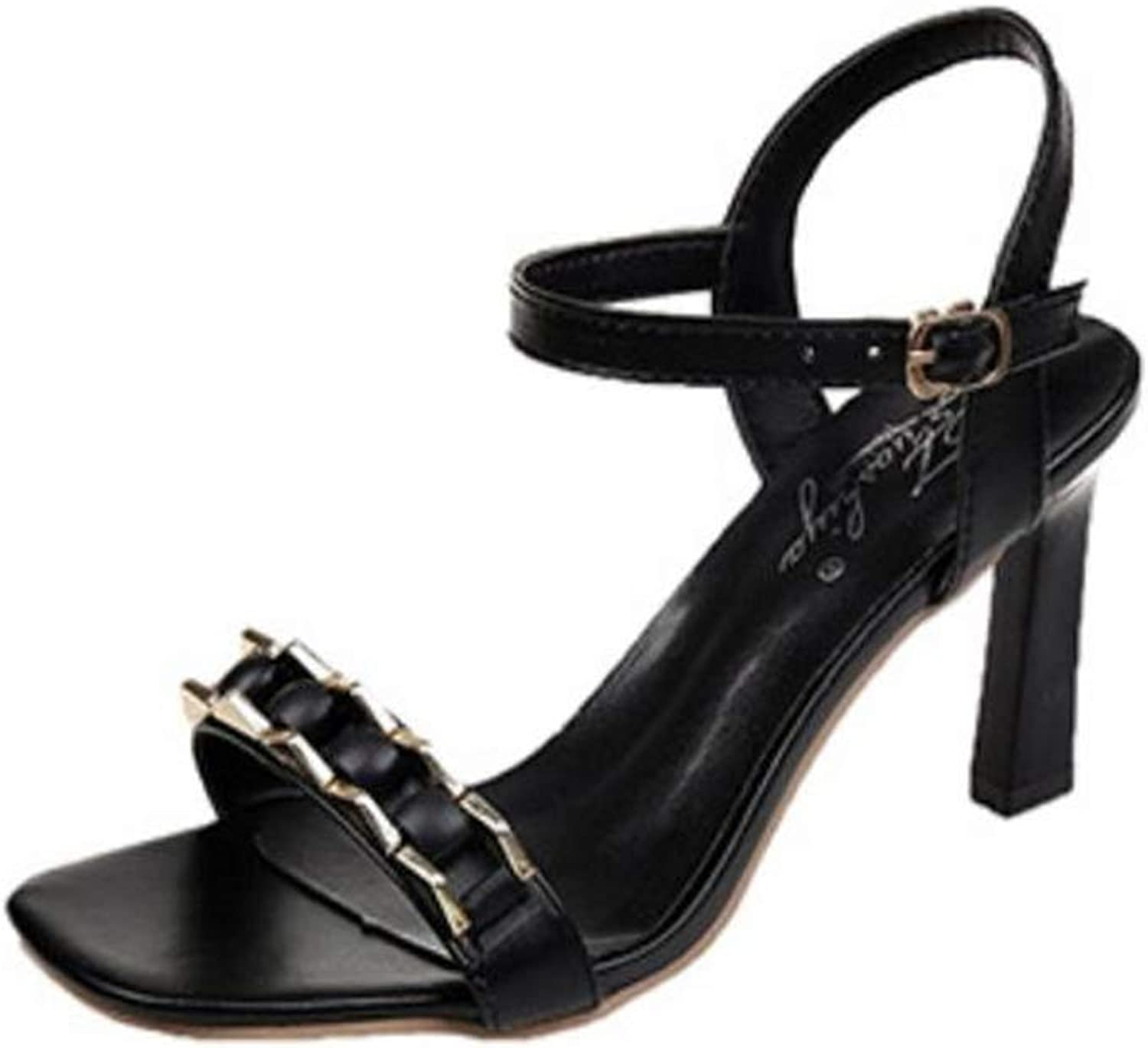 Gusha Casual shoes Thick with Sandals with Women's shoes Summer New Single shoes