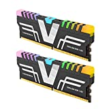 v-Color Prism RGB 16GB (2 x 8GB) DDR4 3200MHz (PC4-25600) CL16 1.35V Desktop Memory Module Ram Upgrade Gaming UDIMM -Grey (TL48G32S8KGRGB16)