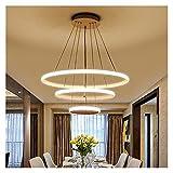 FIRMLEILEI candelabro Luz Colgante led Moderna para el vestíbulo de Sala de Estar Dormitorio Bricolaje Lámparas Colgantes de Montaje en Techo Decoración hogareña