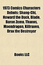 1973 Comics Characters Debuts: Shang-Chi, Howard the Duck, Blade, Baron Zemo, Thanos, Moondragon, Killraven, Drax the Destroyer