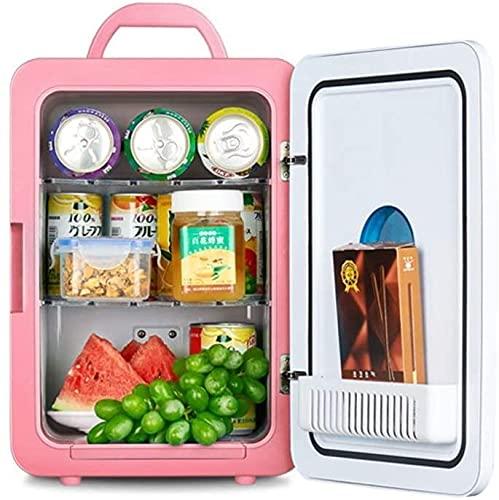 LXNQG Refrigerador del coche Mini refrigerador refrigerador y calentamiento Dormitorio pequeño Frigorífico congelador Door reversible -g 26x31x37cm (10x12x15) Jianyou (Color: F, Tamaño: 26x31x37cm (10