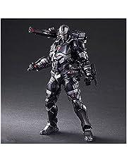 YSYSPUJ Actiefiguren Ironman Oorlog Machine Super Hero Zwart Iron man Action Figure Model Speelgoed Pop Model (Kleur: Geen doos