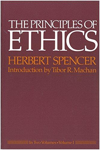 The Principles of Ethics 2 Volume Set: Volumes 1 & 2