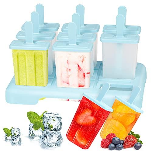 Eisformen, 9 Eisförmchen Popsicle...