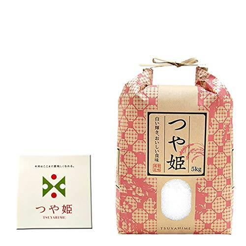 山形県産 つや姫 令和元年度産 (玄米 5kg, 7分づきに精米後(4.65kg))