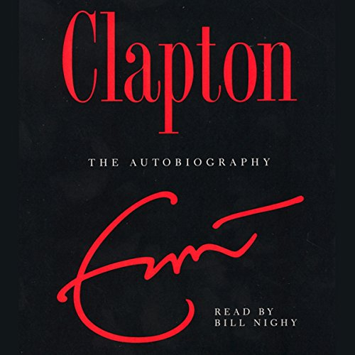 Clapton audiobook cover art
