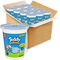 12-Pack Teddy Grahams Honey Graham Snacks