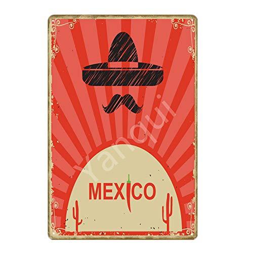 ivAZW Travel Poster Metal Tin Signs Wall Sticker Bar Pub Club Home Decor 20x30cm NEW0348BI