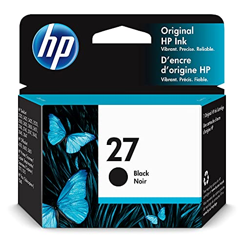 HP 27 | Ink Cartridge | Black | C8727AN
