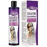 Silbershampoo,No Yellow Shampoo,Purple Shampoo,Anti Gelb Shampoo für Silber Blonde Gebleichtes und...