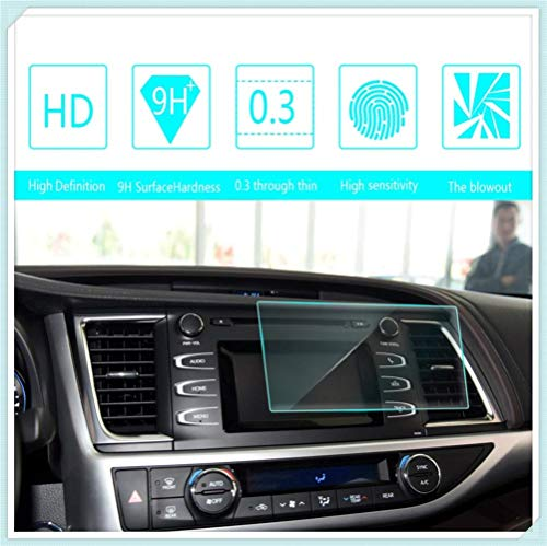 Maiqiken for Toyota Highlander 2015 2016 2017 6 Inch 135×71mm Navigation Screen Protector Touch Screen Display Film 9H Hardness Anti Glare Anti Scratch GPS Screen Protector Foils