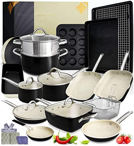 Kitchen Pots and Pans Set 23pc Kitchen Cookware Sets Induction Pots and Pans for Cooking Set product image