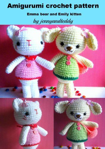 Pixie the cat amigurumi pattern crochet toy | 500x353