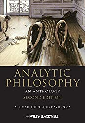 Analytic Philosophy: An Anthology - A. P. Martinich & David Sosa Book Cover