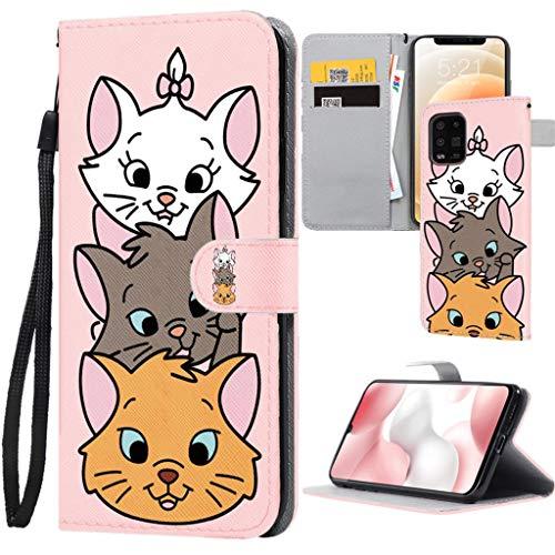 ZhuoFan Custodia con Xiaomi Redmi Note 9 / 10X 4G Cover [6.53'] Disegno Flip Portafoglio Custodia in PU Pelle, con Staffa [Magnetic Clasp] [Card Slots], Antiurto Leather Case Flip Cover Soft TPU Case