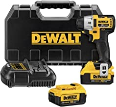 DEWALT DCF895M2 20V Max XR Lithium Ion Brushless 3-Speed 1/4-Inch Impact Driver