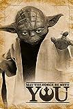 1art1 Star Wars - Yoda, Möge Die Macht Mit Dir Sein Poster