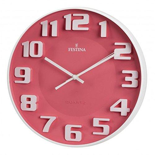 Festina - Reloj de Pared FC0117 - Rosa