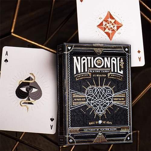 SOLOMAGIA Mazzo di Carte National Playing Cards - Mazzi di Carte da Gioco - Giochi di Prestigio e Magia