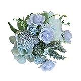 Longra Künstliche Blumen Rose Flower Peony Flower Leaves Brautstrauß Hochzeit Home Decor...
