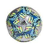 adidas Finale TCPT Balón de Fútbol, Hombres, Top:Multicolor/Bright Cyan/Solar Yellow/Shock Pink Bottom:Collegiate Royal/Black/Solar Orange/White, 5