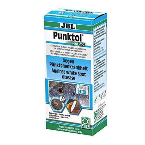JBL Punktol Plus 250 1006600, Heilmittel gegen Pünktchenkrankheit für Aquarienfische, 100 ml