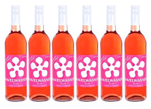 Havelwasser Rosé - Birnensaft & Roséwein, 6 x 750ml Glasflasche, Bio