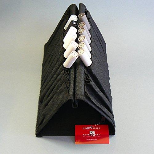 ROTBART - Delta Marker 12er Set - Warm Grey / Warme Grautöne - incl. praktischer Tasche
