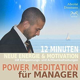 Power Meditation für Manager und Managerinnen Titelbild