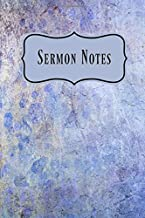 Sermon Notes: Inspirational Sermon Journal, Note Taking for Scriptures, Bible Verses, Prayer Requests, Thoughts and Inspirations.
