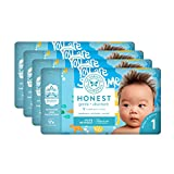 The Honest Company Baby Diapers With Trueabsorb Technology, Yellow Submarines, Size 1, 140 Count