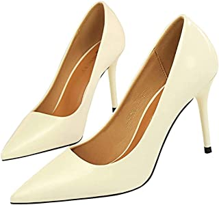 Surprise S Basic Women Pumps Sexy Pointed Toe Thin Heel High Heels Shoes Glitter Stiletto Heels Women Shoes