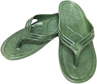 [GYOSAN] 日本製 ビーチサンダル ギョサン モスグリーン メンズ LL 26~27cm ゴムサンダル カーキ オリーブ メイドインジャパン おしゃれ 滑りにくい 釣り 海 靴 ゴム草履 便所サンダル 西海岸 アメリカン雑貨
