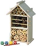 Luxus-Insektenhotels 22369FSC FSC Hôtel à Insectes en Bois pour Enfants – Construction et Peinture