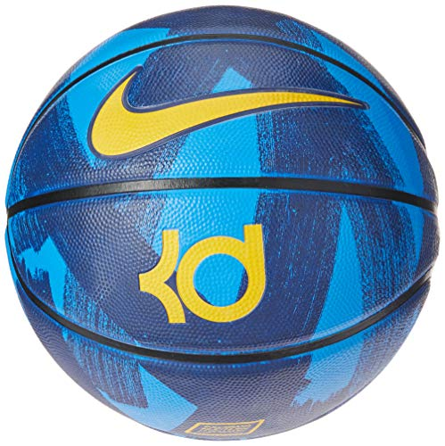 Best Prices! Nike KD Kevin Durant Full Size Basketball Blue/Yellow