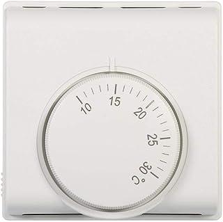 Termostato Interruptor del regulador del termóstato mecánico de la habitación 220V para el aire acondicionado central en el restaurante del hotel el supermercado o el hogar