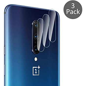 Diruite 3-Pack for Oneplus 7 Pro / Oneplus 7T Pro Camera Lens Protector, [Flexible Glass] [Not Affect Flash] Camera Lens Protector (Do Not Fit for Oneplus 7 / 7T, Only Fit for Pro)