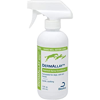 Dechra DermAllay Oatmeal Spray Conditioner for Cats and Dogs 12 oz