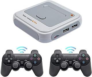 Super Console X Pro Console de jeux darcade rétro, mini-jeu vidéo HDMI WiFi 4K sans fil avec plus de 30000 jeux, console d...